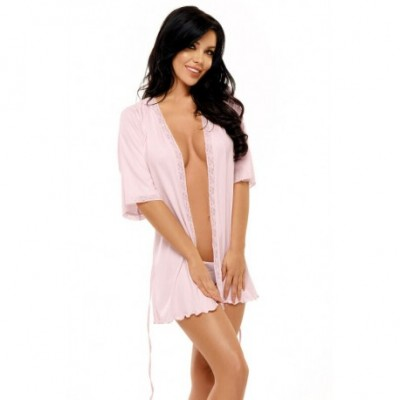Peignoir Marcy Dressing Gown Rose