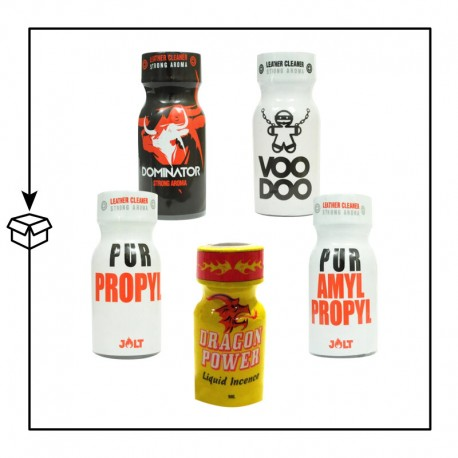 MIX PACK POPPERS AMYLE-PROPYLE
