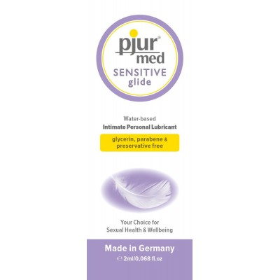 PJUR MED SENSITIVE GLIDE 2ML