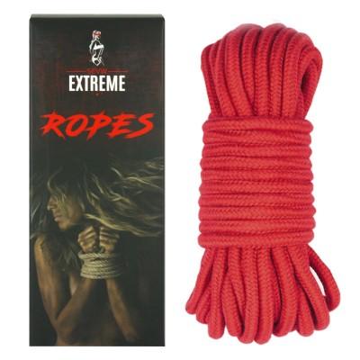 Corde De Coton 10m – Rouge