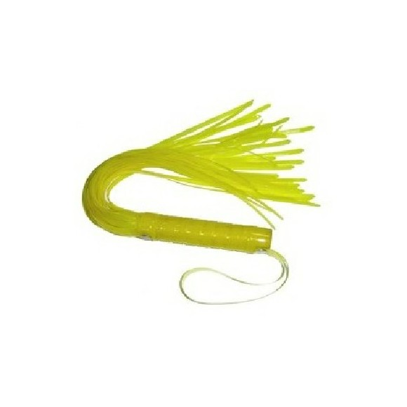 Faux Leather Whip Yellow