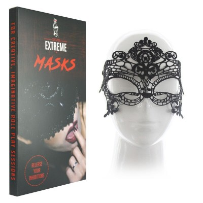 Masque en Dentelle Sexy Lace - Noir