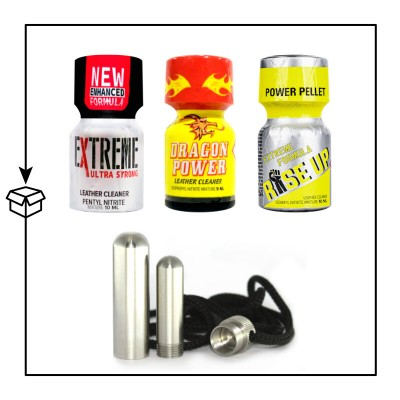 Pack Poppers Grenoble