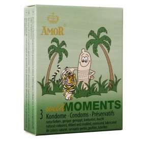 AMOR wild Moments 3 préservatifs