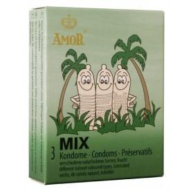 AMOR Mix 3 préservatifs
