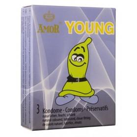AMOR Young 3 préservatifs