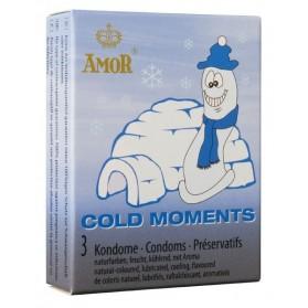 AMOR Cold Moments 3 préservatifs