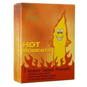 AMOR Hot Moments 3 préservatifs