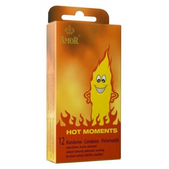 Amor Hot Moments 12 Préservatifs