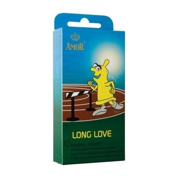 Amor Long Love Condoms 12 préservatifs