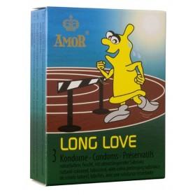 Amor Long Love Condoms 3 préservatifs