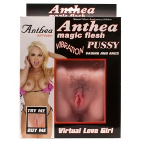 Anthea Magic Flesh Con Vibración Vagina Y Ano