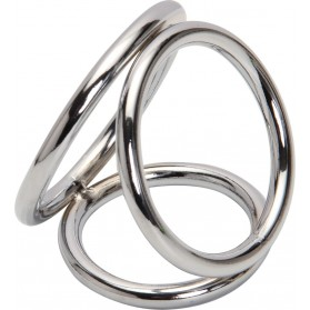 Sevw Extreme Cockring - Triple Steel Cock Ring
