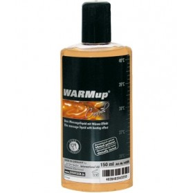 Huile Massage Warmup Caramel 150ml
