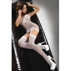 CATRIONA BODYSTOCKING – BLANC