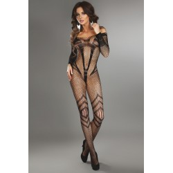 SIRIANA BODYSTOCKING NOIR