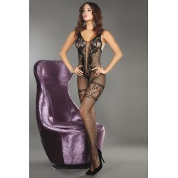 TRISTESSA BODYSTOCKING NOIR