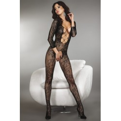 ZITA BODYSTOCKING – NOIR XL/XXL