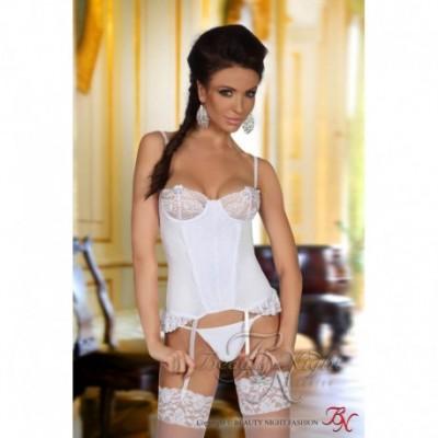 Shirley corset white