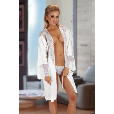 Federica Dressing Gown White