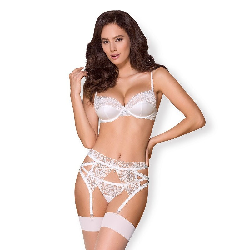 conjunto de lingerie para noiva