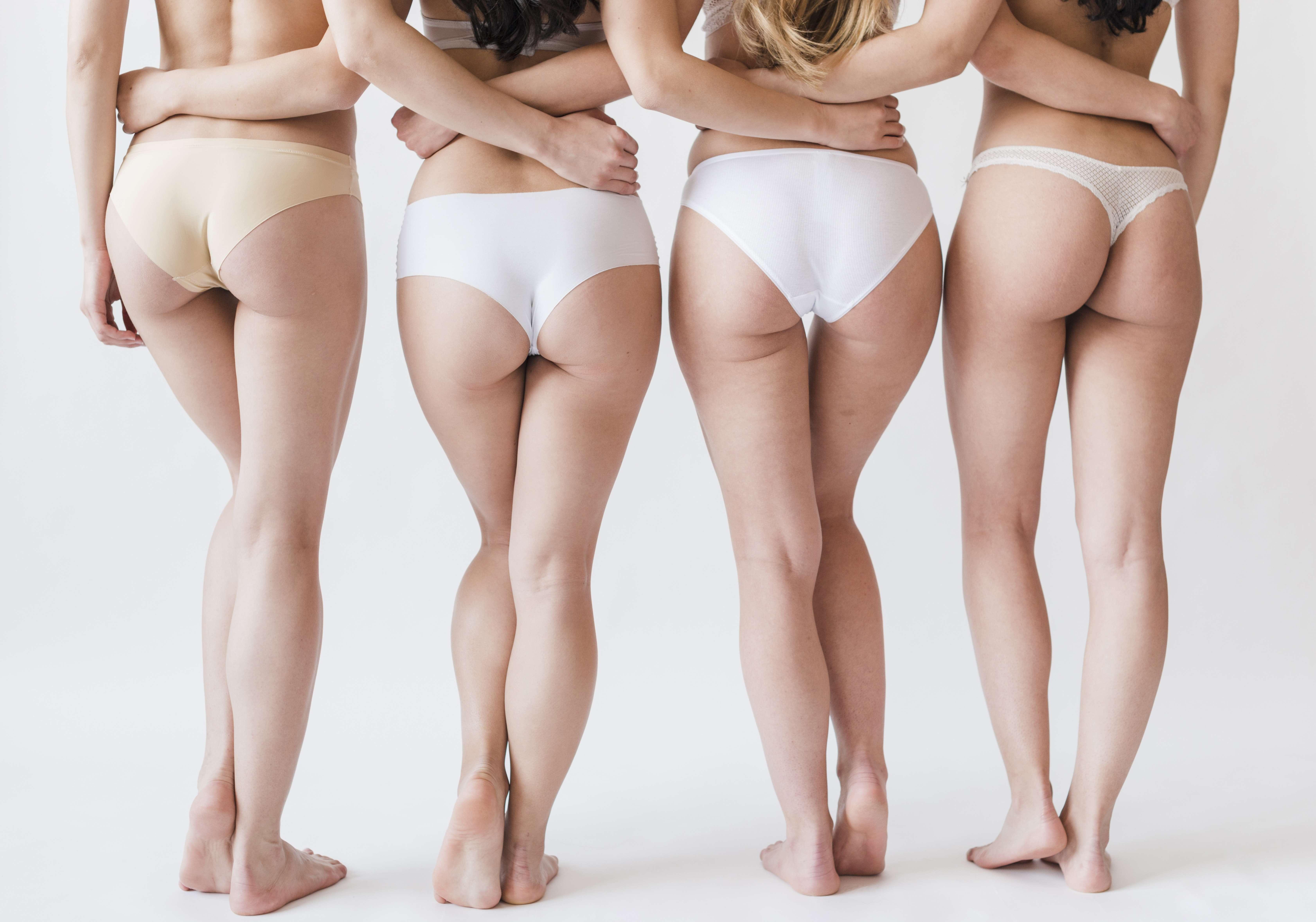 Tipos de cuecas femininas