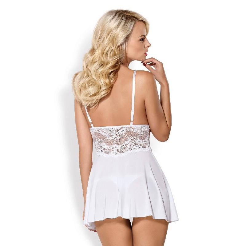 camisa de noite para noiva