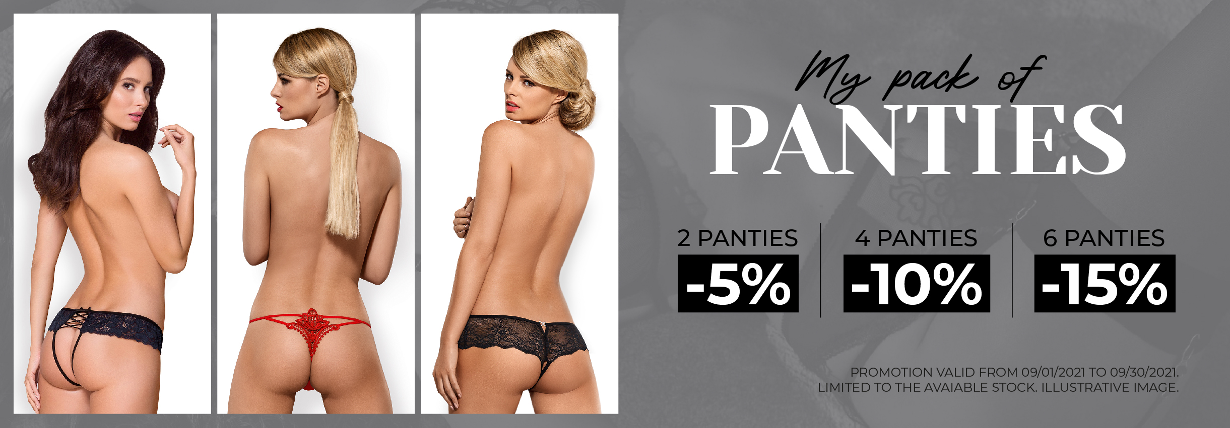 Panties promotion