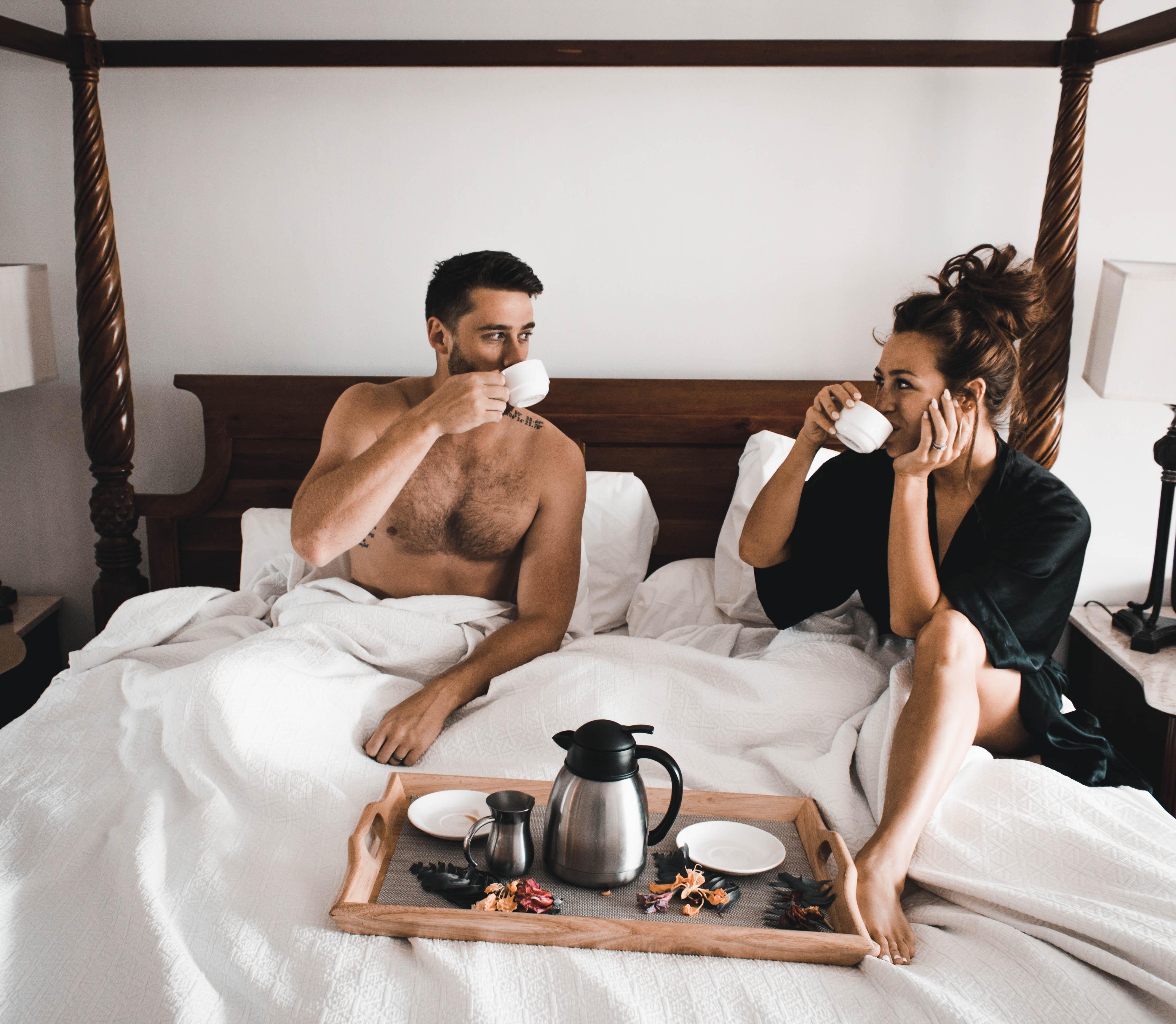 pequeno-almoço na cama