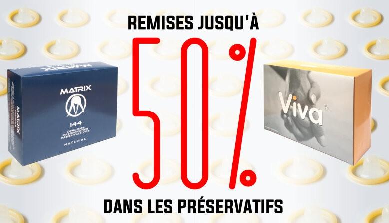 Preservatifs Remise
